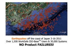 Tohoku 2011 earthquake results
