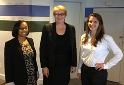 Picture of Personal Injury Atorney Carol L. Schitt with new legal analysts Laurielle Howe and Ashlyn Angell