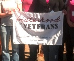 Sisterhood of Veterans Flag