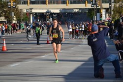 David Berdan at the 2011 Baltimore Running Festival