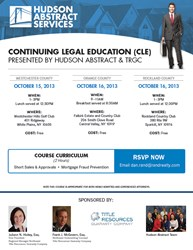 Continuing Legal Education Course from Hudson United Abstract & TRGC