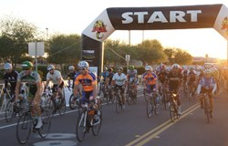 $212,000 was raised at the inaugural Trails 4 Trials cycling event in Arizona's West Valley to help fund new cancer clinical trials at the nonprofit Gateway for Cancer Research.