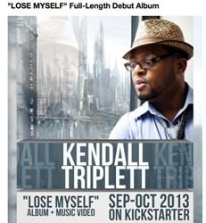 Gospel Music, Kickstarter, Crowdfunding, Kendall Triplett, Christian Music, Gospel Artist, Christian Artist
