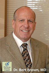 ENT Dr. Bert Brown of Physician Hearing Centers in Cleveland OH