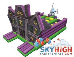 Sky High Party Rentals Moonwalks and Inflatable Slides