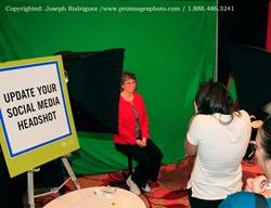 Green Screen Photography; Headshot; Tradeshow Photography