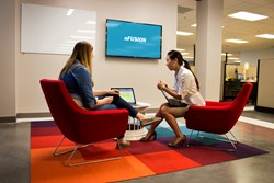 nFusion moves into new office: one of the conference rooms