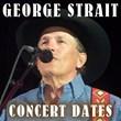 George Strait Concert Dates for Denver, Phoenix, Columbus, Atlanta,...