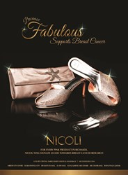 NICOLI - PINK SHOES IN SUPPORT OF BREAST CANCER AWARENESS - The luxury crystal embellished shoe and handbag brand - shop online at www.nicolishoes.com