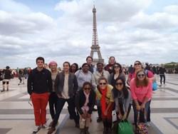 Centenary Students, 2013 May Module, Paris