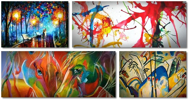 Abstract painting ideas a walk into abstracts helps for Abstract mural ideas