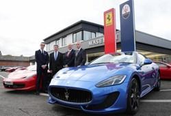 Lookers Motor Group Luxury Car Showroom