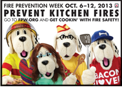 celebrate fire prevention week with fire prevention products