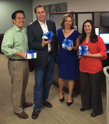 The Alumni Office at Duke University's Fuqua School of Business are always happy to get a delivery of cookies!