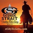 George Strait Tour Tickets for Los Angeles, Shreveport at Bossier City, Baton Rouge, Phoenix, and Tulsa Are in High Demand According to eCityTickets.com