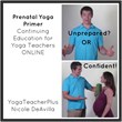 First Prenatal Yoga Primer Continuing Education for Yoga Teachers...