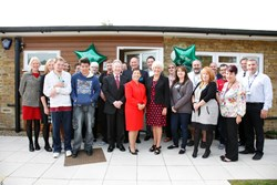 The launch of The Bungalow at Havering College of Further and Higher Education