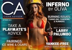 cigars, cigar magazine, oliva inferno, swimsuit pictorial, cigar reviews