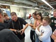 RobbJack Shows Colfax High School Students How Math Is Used in Manufacturing During National Manufacturing Day Tour Arranged by Sierra College