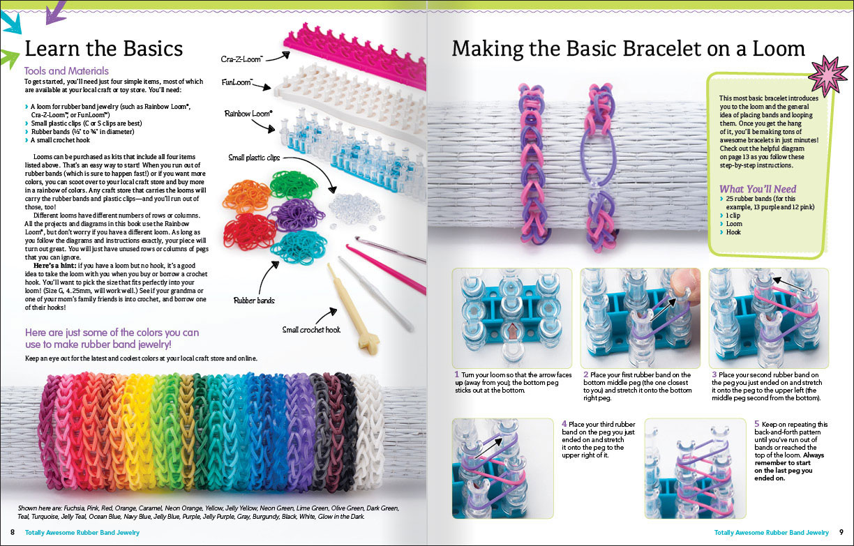 rainbow loom patterns instructions - photo #5