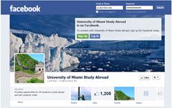 social media, study abroad, students