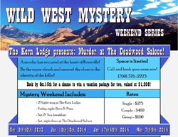 Wild West Mystery Weekend