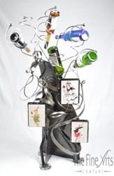 Hendry wine rack - The Fine Arts Company