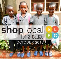 the NALA's Shop Local for a Cause