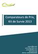 """Livre Blanc Iziflux """"Comparateurs de Prix : Kit de Survie..."""