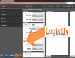 Logistify - Expedia of logistics for xTuple ERP