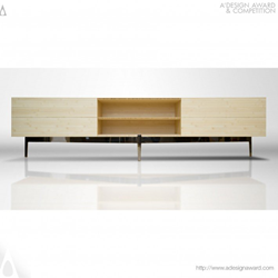 Bamboo Credenza by Butz+Klug
