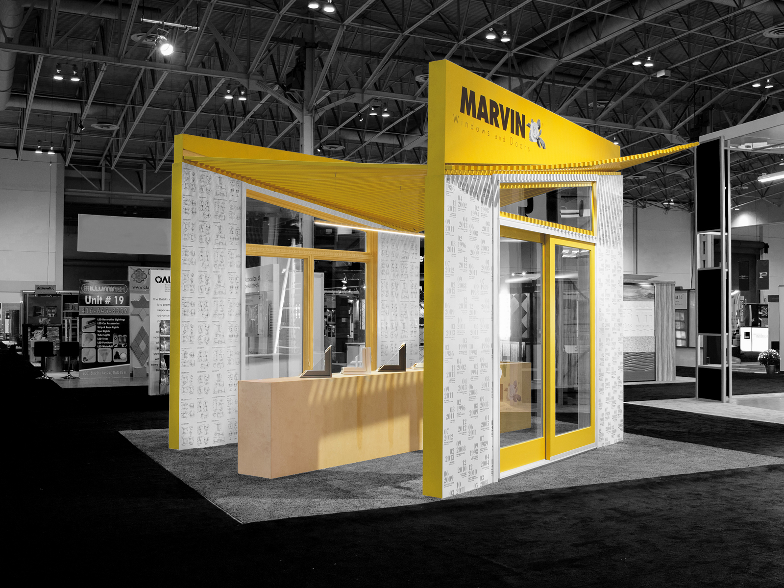 Exhibition Booth Design Japan : Marvin windows and doors canada wins iidex gold