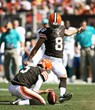 Cleveland Browns' Kicking Billy Cundiff