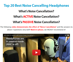 Top 20 Best Noise Cancelling Headphones