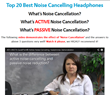 Active NC Headphones Video from Audio-Technica