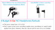 Budget-friendly In-Ear Earbuds
