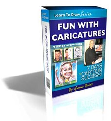 caricature drawing tutorial how fun with caricatures