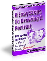 pencil portrait tutorial how 8 easy steps to drawing a portrait