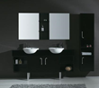 "James Martin Solid Wood 67"" Carlissa Espresso Double Sink Vanity 147-518-DB-5731"