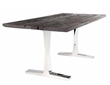 Nuevo Living HGLD116 - delta dining table in dark shipwood, wood