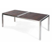 Nuevo Living HGLD112 - lien dining table in dark shipwood, wood