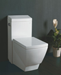 one piece high efficiency eco-friendly toilet Eago TB336