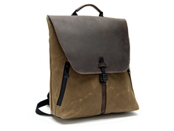 The Staad BackPack—Stout size, angled view