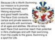 The Race Club swimming training program