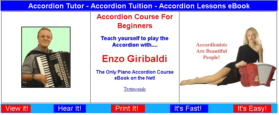 how to play the piano accordion for beginners