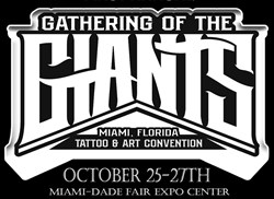 Gathering of the Giants Tattoo Show in Miami, FL