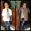 Insta-Knot 3-year-old CEO Tim