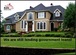 government shutdown, government loans, home loan, fha, VA