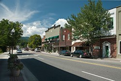 Downtown Bryson City, NC