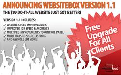 websitebox ugrade,websitebox improvements,improved IDX,faster speed